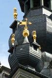 Torre de sino de Mons, Bélgica fotografia de stock royalty free