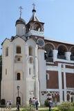 Torre de sino ortodoxo Fotografia de Stock