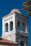 Torre de sino velha em Jerusalem Israel Fotos de Stock Royalty Free