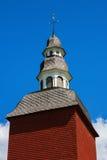 Torre de sino vermelha Imagens de Stock