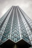 Torre de Skyraising foto de stock