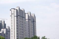 Torre de Skyraising Fotos de archivo libres de regalías