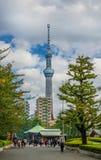 Torre de Skytree no Tóquio foto de stock