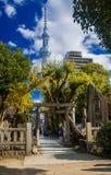 Torre de Skytree no Tóquio imagens de stock