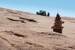 Torre de Smal feita de pedras do sandstone vermelho Fotografia de Stock Royalty Free