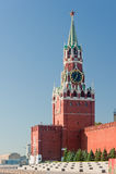 Torre de Spaska. Kremlin. Moscovo. Imagem de Stock