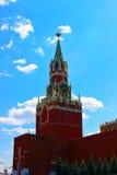 Torre de Spasskaya en el Kremlin Imagenes de archivo