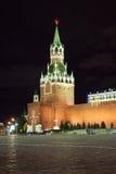 Torre de Spassky de Moscovo Kremlin Imagens de Stock Royalty Free