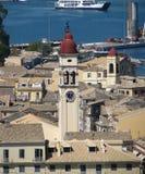 Torre de Spiridon del santo. Imagen de archivo libre de regalías