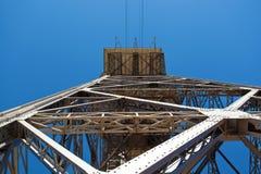Torre de St. Sebastia Cable Cars Stock Photography