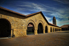 Torre de Stanford Hoover Fotos de Stock Royalty Free