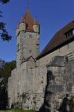 A torre de Stoberlein no der Tauber do ob de Rothenburg, Alemanha Fotografia de Stock Royalty Free