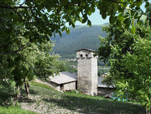 Torre de Svan Fotos de Stock Royalty Free