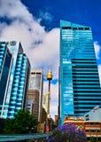 Torre de Sydney imagenes de archivo