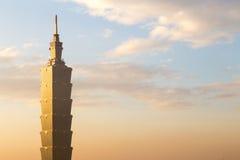 Torre de Taipei 101 Imagen de archivo libre de regalías