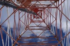 Torre de Telecomunication Fotografía de archivo libre de regalías