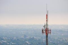 Torre de Telecomunication Imagem de Stock Royalty Free