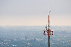 Torre de Telecomunication Imagen de archivo libre de regalías