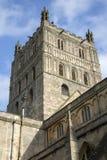 Torre de Tewkesbury Abbey Church Fotografía de archivo libre de regalías