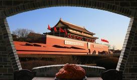 Torre de Tiananmen, China fotos de archivo