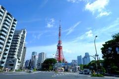 Torre de Tokio Fotos de archivo libres de regalías