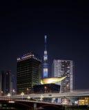 Torre de Tokio Skytree Imagen de archivo libre de regalías