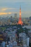 Torre de Tokyo Fotos de Stock Royalty Free