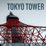 Torre de Tokyo, Japão foto de stock