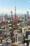 Torre de Tokyo, Japão Fotografia de Stock