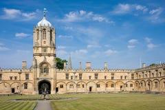 Torre de Tom de la iglesia de Cristo, Universidad de Oxford Imagen de archivo