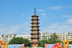 Torre de três sombras Fotografia de Stock