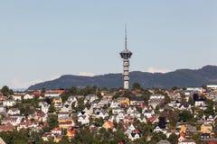 Torre de Tyholt Fotos de Stock