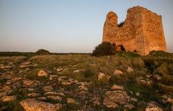 Torre de Uluzzo, Salento Fotos de archivo