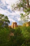 Torre de una barranca Fotos de archivo libres de regalías