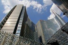 Torre de Unicredit Fotos de archivo