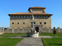 Torre de Varona, Valdegovia ( Araba ) Royalty Free Stock Photos