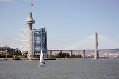 Torre de Vasco de Gama Fotografia de Stock