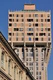 Torre de Velasca del cuadrado del erculea, Milano Imagen de archivo libre de regalías