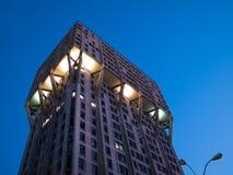 Torre de Velasca, Milão Fotografia de Stock Royalty Free