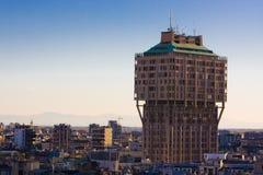 Torre de Velasca - Milán Imágenes de archivo libres de regalías
