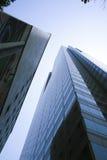 Torre de vidro Fotografia de Stock