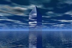 Torre de vidro Fotos de Stock