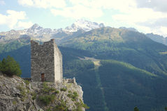 Torre de vigia antiga Imagens de Stock