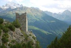 Torre de vigia antiga Imagens de Stock Royalty Free