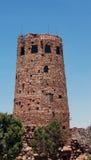 Torre de vigia da opinião do deserto fotos de stock