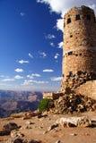 Torre de vigia da opinião do deserto Imagem de Stock