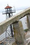 Torre de vigia de Alcatraz Fotos de Stock