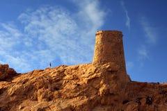 A torre de vigia de Ile Rousse Imagem de Stock Royalty Free