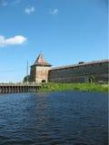 Torre de vigia de Schlisselburg Fotos de Stock