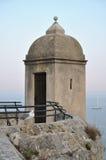 Torre de vigia do castelo de Mônaco Fotografia de Stock